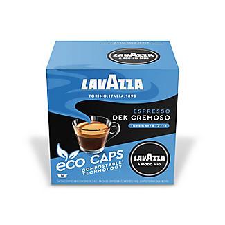 16 Lavazza A Modo Mio Espresso Dek Cremoso Eco Caps Coffee Capsules alt image 2