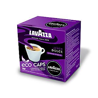 16 Lavazza A Modo Mio Espresso Lungo Dolce Eco Caps Coffee Capsules