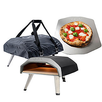 Ooni Koda Gas-Fired Outdoor Oven with Carrying Case and Pizza Peel
