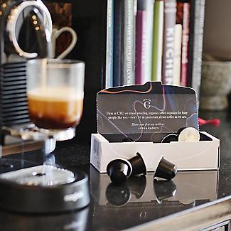10 CRU Kafe Organic Intense Roast Recyclable Coffee Capsules  alt image 2