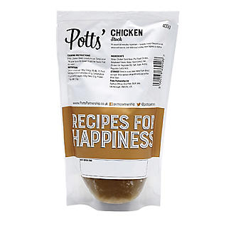 Potts' Liquid Chicken Stock 400g alt image 2