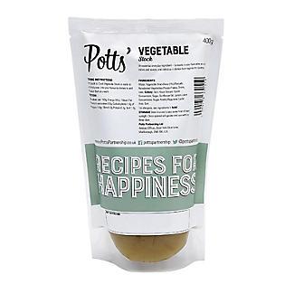 Potts' Liquid Vegetable Stock 400g alt image 2