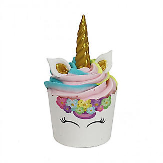 PME Unicorn 6 Cupcake Cases and Toppers Kit