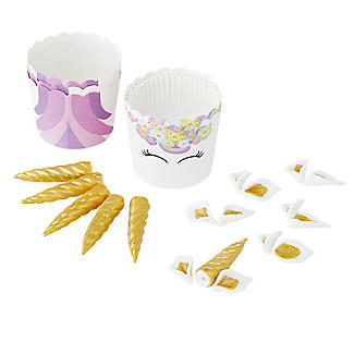 PME Unicorn 6 Cupcake Cases and Toppers Kit alt image 3