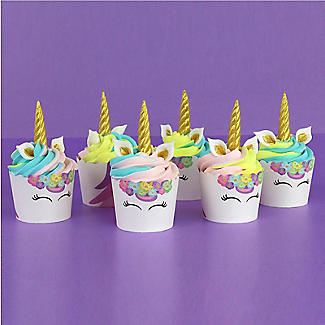 PME Unicorn 6 Cupcake Cases and Toppers Kit alt image 4