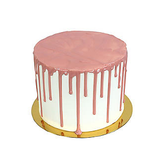 PME Ready-to-Use Cake Drip and Drizzle – White Chocolate Flavour Pink alt image 5