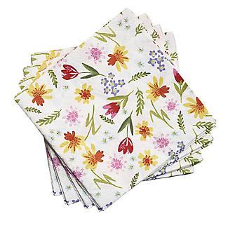 20 Talking Tables Spring Floral Napkins alt image 2