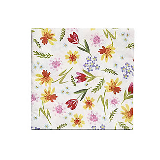 20 Talking Tables Spring Floral Napkins alt image 3