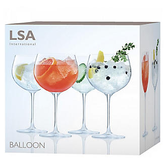 4 LSA Large Gin Balloon Glasses Set alt image 3