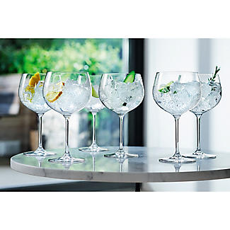 4 LSA Large Gin Balloon Glasses Set alt image 4