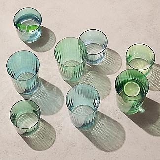4 LSA Gio Tumbler Glasses Set - Jade  alt image 2