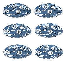 Summer Blooms Side Plate - Set of 6