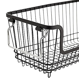 Lakeland Stackable Wire Storage Baskets Bundle alt image 4