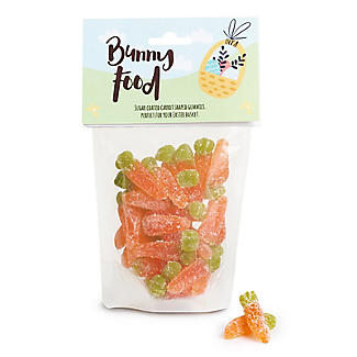Bunny Food Vegan Gummy Carrots 150g