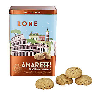 Gadeschi Rome Amaretti Italian Biscuits and Tin 200g