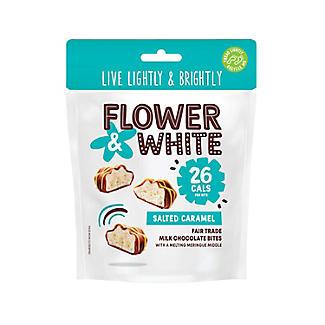 Flower and White Salted Caramel Meringue Bites 100g