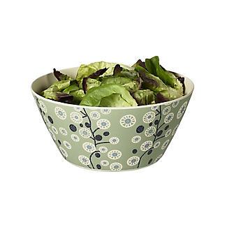 Lakeland Cherry Flower Bamboo Large Salad Bowl 25.5cm Dia.