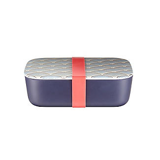 Lakeland Blue Wave Bamboo Lunch Box