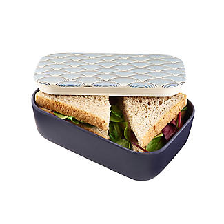 Lakeland Blue Wave Bamboo Lunch Box alt image 2