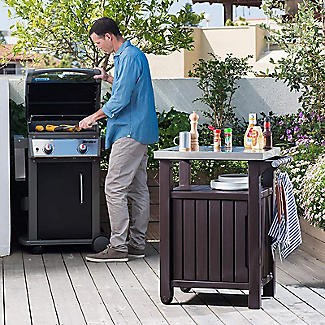 Keter Unity Outdoor Kitchen Portable Barbecue Station alt image 2