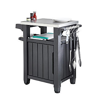 Keter Unity Outdoor Kitchen Portable Barbecue Station alt image 3