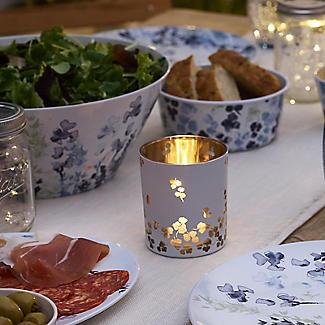 Lakeland Hana Garden Glass Tealight Holder alt image 2