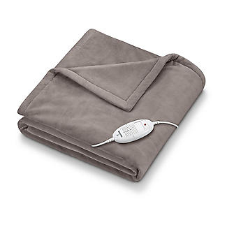 Beurer Cosy Heated Throw Taupe 180 x 130cm HD75-42400
