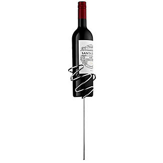 Picnic Stix Garden Stakes for Wine Bottle and 2 Glasses alt image 3