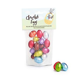 Mini Foiled Chocolate Eggs 150g