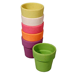 6 Zuperzozial Bamboo Little Egg Heads Egg Cups  alt image 4