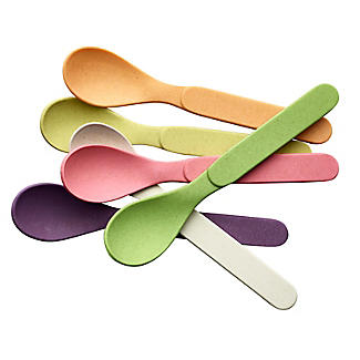6 Zuperzozial Bamboo Spoonful of Colour Teaspoons  alt image 6