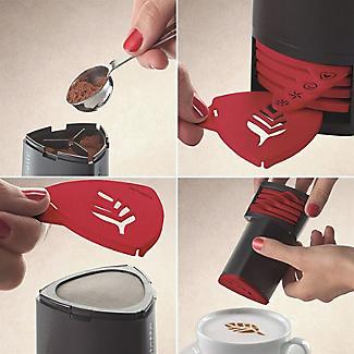 Aerolatte Cappuccino Artist – 7-piece Stencil Set alt image 3