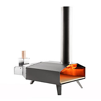 Ooni 3 Outdoor Oven with Cover and Peel and Cookbook Bundle alt image 3
