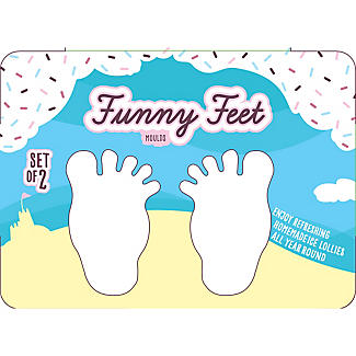2 Funny Feet Ice Cream Lolly Mould with 2 Sticks  alt image 6