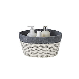 3 Tidy Tote Rope Storage Baskets  alt image 5