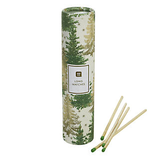 Christmas Tree Candles & Matches Set alt image 3
