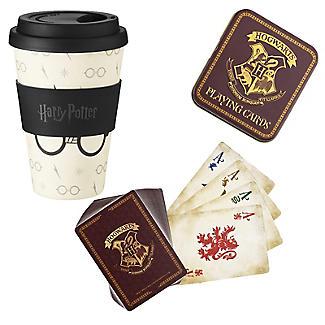 Harry Potter Travel Mug & Cards Gift Set