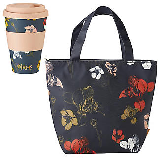 RHS Bamboo Travel Mug and Lunch Tote Bag Gift Set alt image 1