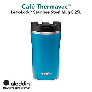 Aladdin Thermavac Leak-Lock Travel Mug Aqua Blue 250ml alt image 5