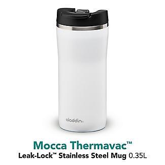 Aladdin Thermavac Leak-Lock Travel Mug White 350ml alt image 4