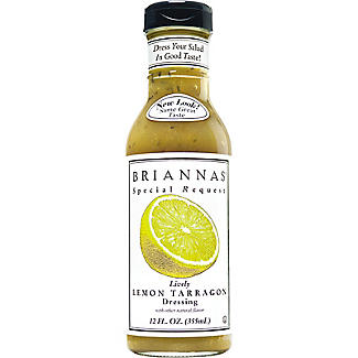 BRIANNAS Lively Lemon Tarragon Dressing 355ml