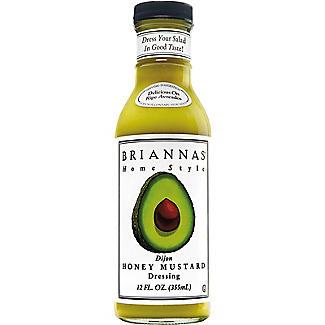 BRIANNAS Dijon Honey Mustard Dressing 355ml