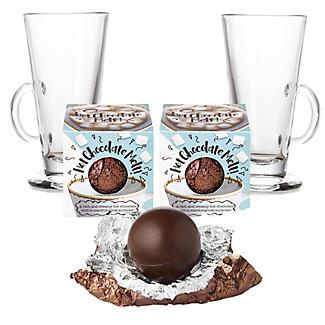 Lakeland Hot Chocolate Melts and Latte Glasses - Set of 2