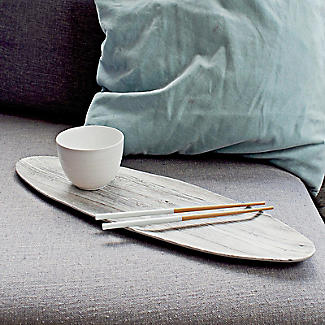2 Zak Designs Bamboo Chopsticks and Silicone Rests - White  alt image 2