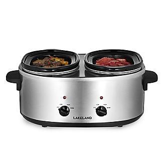 2 Pot Slow Cooker with Recipe Book & Sauce Mix alt image 3