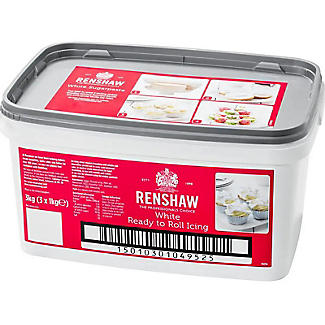 Renshaw 3kg Ready to Roll White Icing alt image 1
