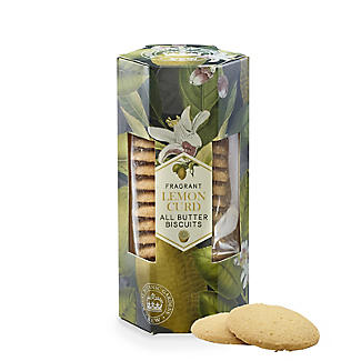 Kew Gardens Fragrant Lemon Curd All Butter Biscuits 200g
