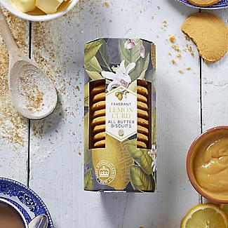 Kew Gardens Fragrant Lemon Curd All Butter Biscuits 200g alt image 2