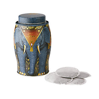Williamson Earl Grey Tea 40 Bags in Blue Elephant Tin