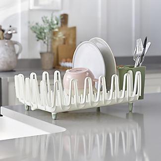 ILO Kitchen Dishrack & Cutlery Drainer Set - Sage Green alt image 2